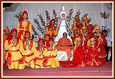 Balaks who performed a folk dance