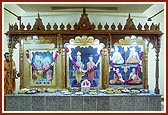 The newly consecrated murtis