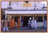 The newly consecrated Shree Swaminarayan Satsang Bhavan