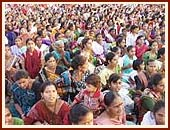 150,000 devotees from all parts of India and abroad during the Birthday Celebration