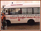 A new Medical Van was inaugurated by Swamishri, to provide free medical services in tribal areas