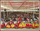 The huge gathering was proof that the BAPS womens wing is active and strong in religious and social spheres