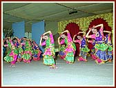 Beautifully choreographed cultural dance was performed by the balika mandal