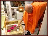 Annakut Celebration with Pramukh Swami Maharaj<br>Gondal<br>6 November 2010 -