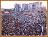 12,000 devotees during Sunday assembly, Surat