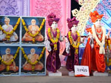 Murtis to be consecrated at new BAPS Swaminarayan Mandirs at Uber, Rabod, Bardoli and Padra