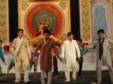 Kids and youths perform cultural program