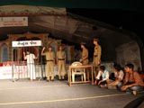 Youth perform various programs in the assembly to mark the 20th anniversary of Akshar-Purushottam Chhatralay, Surat