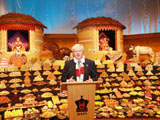Mayor of London Boris Johnson Celebrates Hindu New Year at Neasden Temple, London, UK
