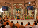 Murtis to be consecrated at BAPS Shri Swaminarayan Mandirs, Boriavi, Bechari and Rashnol