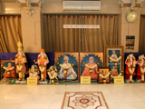 Murtis to be consecrated at BAPS Shri Swaminarayan Mandirs at Avatadiya, Veraval and Shantadevinagar (Navsari)
