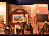 A drama presentation by Chhatralay youths