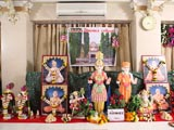Murtis to be consecrated for BAPS Shri Swaminarayan Mandir at Ghoghavadar (Gondal)