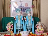 Murtis to be consecrated for BAPS Shri Swaminarayan Mandir at Moviya (Gondal)