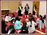 The Swaminarayan Sampraday: 1781 Balikas participate in a learning activity