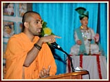 The Swaminarayan Sampraday: 1781 Pujya Saints gave a presentation on the philosophy of the Swaminarayan Sampraday