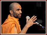 The Swaminarayan Sampraday: 1781 Pujya Saints gave a presentation on the purpose of life as the ultimate salvation (Moksh)
