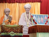 Pujya Viveksagar Swami delivers a  discourse on the 62nd Pramukh Varni day - the day that Shastriji Maharaj appointed Shastri Narayanswarupdas as the sanstha's 'Pramukh'