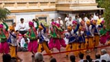 Youth and children add to the festivities with folk dances