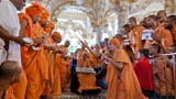 A historic incident recreated before Swamishri