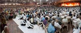 Devotees during the satsang sabha