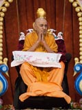 Swamishri during the sabha