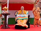 Pujya Ishwarcharan Swami prays for independence from maya, for the good of all