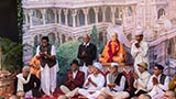 Youths dressed as devotees from Shastriji Maharaj's time