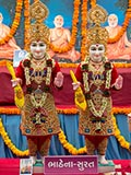 Murtis to be consecrated at BAPS Shri Swaminarayan Mandir in Bhathena (Surat)
