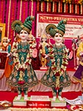 Murtis to be consecrated at BAPS Shri Swaminarayan Mandir in Paneli, India