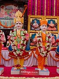 Murtis to be consecrated at BAPS Shri Swaminarayan Mandir in Raisingpura, India