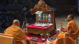 Pujya Ishwarcharan Swami performs New Year mahapuja