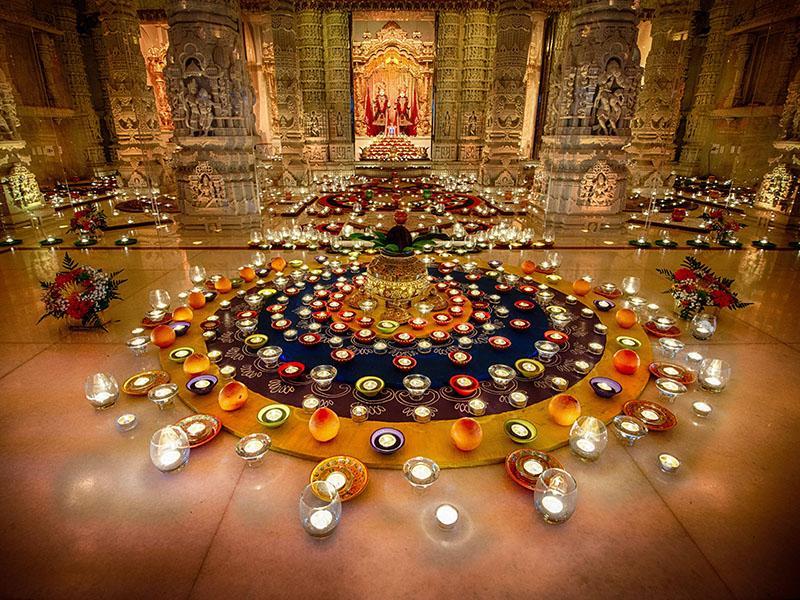Diwali annakut celebrations atlanta ga usa for Annakut decoration ideas