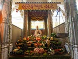 'Harikrishna Haat' - a special display under the mandir dome