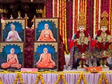 Murtis to be consecrated at new BAPS Shri Swaminarayan Mandir at Kasor, India
