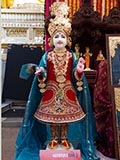 Ghanshyam Maharaj murti to be consecrated at BAPS Shri Swaminarayan Mandir at Vasna, India
