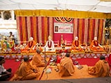 Shri Nilkanth Varni and Shri Guru Parampara murtis to be consecrated at BAPS Shri Swaminarayan Mandir at Sankari