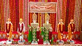 Murtis to be consecrated at new BAPS Shri Swaminarayan Mandir at Katargam (Surat), India