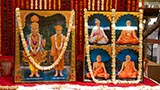 Murtis to be consecrated at new BAPS Shri Swaminarayan Mandir at Madhar Kui (Sankari), India