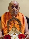 Swamishri with Thakorji