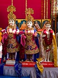 Murtis to be consecrated at new BAPS Shri Swaminarayan Mandir at Anklav, India