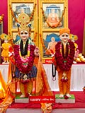 Murtis to be consecrated at new BAPS Shri Swaminarayan Mandir at Ghayaj, India