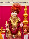 Murti to be consecrated at new BAPS Shri Swaminarayan Mandir at Devgadh Bariya, India