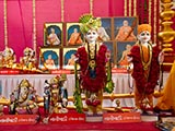 Murtis to be consecrated at new BAPS Shri Swaminarayan Mandir at Nanikhadi, India