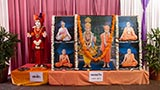 Murtis to be consecrated at BAPS Shri Swaminarayan Mandirs in Rabod and Ashadip, Surat, India