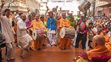Tribal devotees rejoice before Swamishri