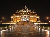 Swaminarayan Akshardham at Earth Hour