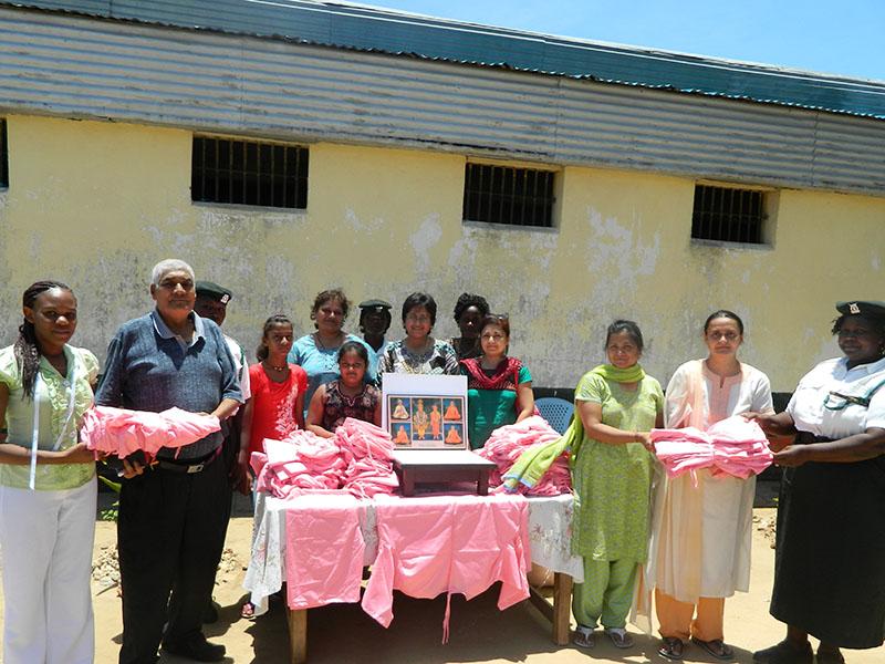BAPS Volunteers Visit Womens Prison, Mombasa, Kenya
