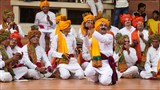 Youths sing kirtans in traditional 'ochhchhaviya' style