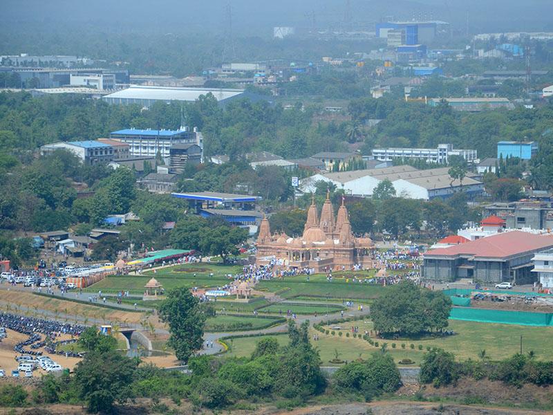 Silvassa India  City new picture : Murti Pratishtha of BAPS Swaminarayan Mandir, Silvassa, India